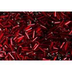 Rokajl Preciosa trubičky 7 mm vínovočervené