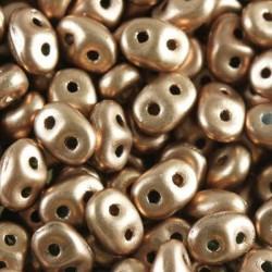 SuperDuo - Pastel color metallic brown