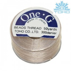 Toho thread One-G beige
