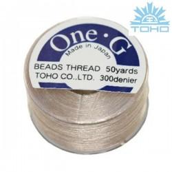 Toho thread One-G beige