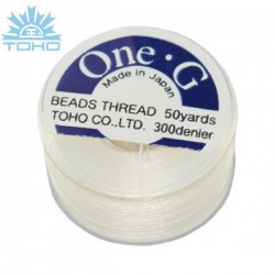 Toho thread One-G black