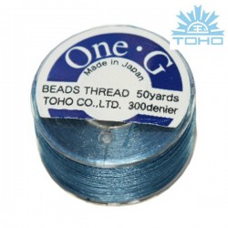 Toho thread One-G blue