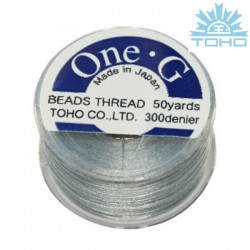 Toho thread One-G gray
