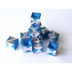 Aluminio Azuro cube