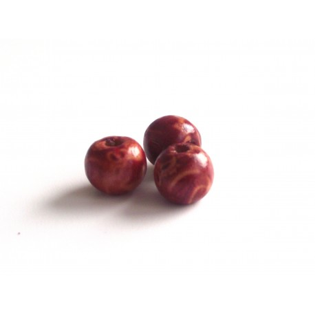 Drevené korálky Lierre, 8 mm
