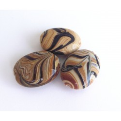 Wooden candy ovals