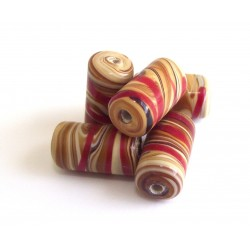 Wooden tambor tubes