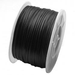 Nylonová šnúrka čierna 1mm