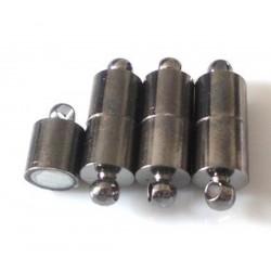 Magnetické zapínanie - hematit, 19x6mm