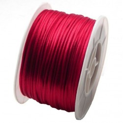 Nylonová šnúrka tmavo červená 1mm