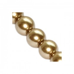 Sklenené perličky Kashmir 6mm /12ks