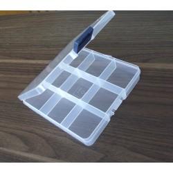 Plastový organizér 13,5 x 14 x 2,3 cm