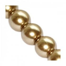 Sklenené perličky Kashmir 10mm /5ks