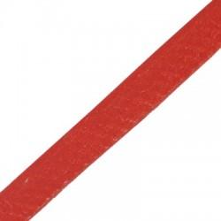 Kožený remienok, červený