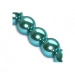 Sklenené perličky Azure 6mm /12ks