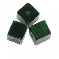 Živicová kocka, zelená /5ks